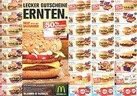 McDonalds Gutscheine 08.-29.09.14