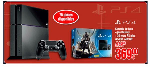 [Luxembourg] Sony PS4 inklusive Destiny für 369€ @Cora Foetz