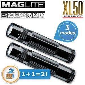 iBOOD: 2 x Maglite XL50 LED Taschenlampe für 35,90 Euro inkl. Versand