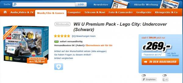 Wii U Premium Pack - Lego City: Undercover