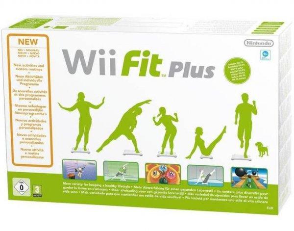 Nintendo™ - Balance Board + Wii Fit Plus (Weiß) für €29,90 [@MeinPaket.de]