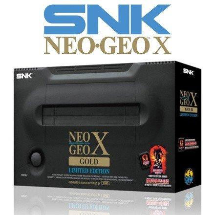 [Versand aus UK] NeoGeo X Gold Limited Edition