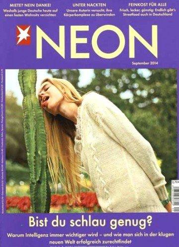 [Studenten] NEON weiterhin für 1,85€ pro Ausgabe (50% Rabatt) + 10€ Amazon Gutschein