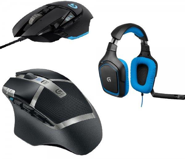 [Logitech Online Shop] G430 oder G502 oder G602 + PowerShell Controller + Battery + 15€ Online Gutschein