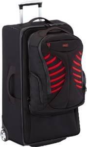 Stratic Koffer+Rucksack MAXIMUM, 75 cm, 82.5 Liter, rot/schwarz für 59,70€ (Vergleichspreis: ~80€)
