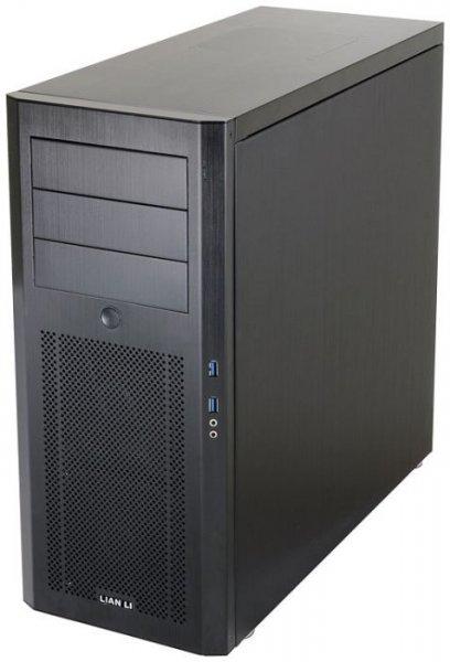 Lian Li PC-10NB (ATX-PC-Gehäuse, schwarzes Aluminium, USB 3.0) @ ZackZack - 84,85€