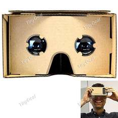 [China] Google Cardboard Cellphone VR Virtual Reality 3D Glasses für 2,55 Euro