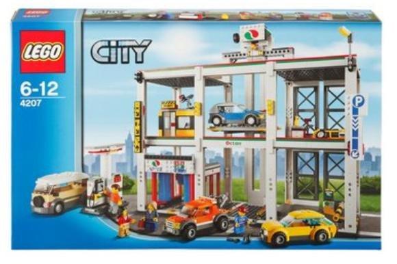 Bei Otto, Baur und Schwab (gehören zusammen) gibt es von Lego die City Garage 4207 + Buch und Steine-Set jetzt für 69,90 Euro