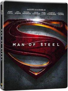 Man of Steel 3D - Limited Edition Steelbook (Blu-Ray) für 13,73€ @Zavvi