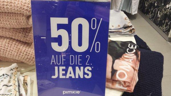 Pimkie - 50% auf die 2. Jeans