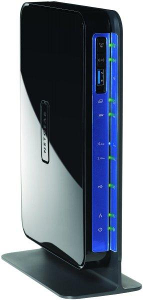 Netgear Modem Router Wireless-N 600 Mbps Dualband con Porte Gigabit