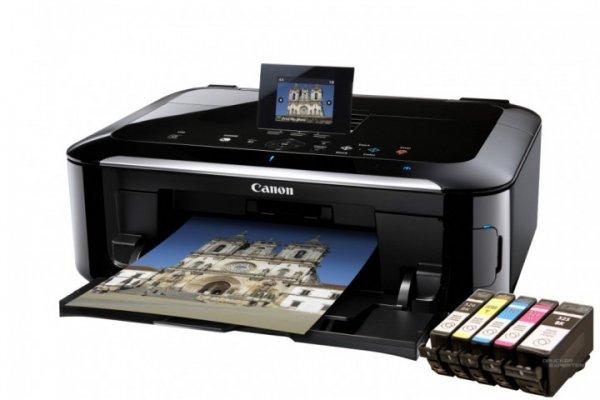 Canon MG5350 Multifunktionsdrucker mit Refil-Patronen