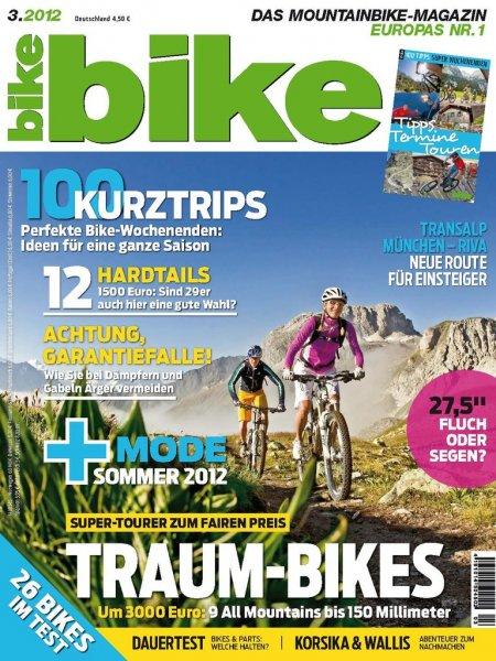 bike - Mountainbike Magazin - 14 Ausgaben für 51,50 inkl. 40€ Gutschein = 0,82€ pro Ausgabe