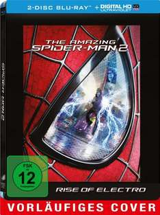 The Amazing Spider-Man 2 (2014) Rise of Electro (Steelbook - 2 Discs)