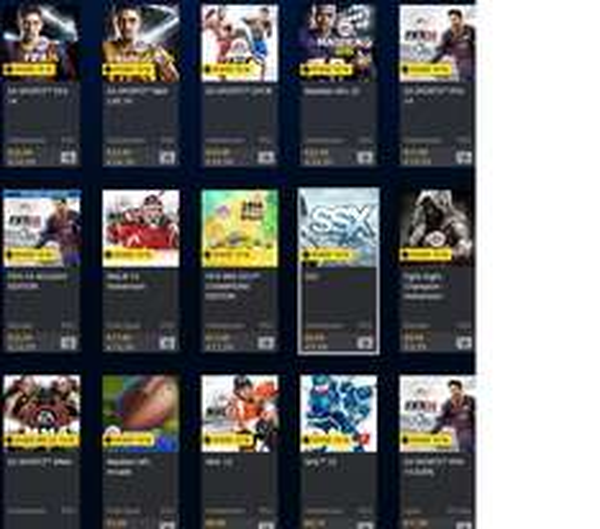 Div. ältere EA-Sports-Titel im PSN-Store reduziert (auch PS4)