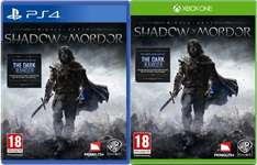 Mittelerde: Mordors Schatten @ Amazon.co.uk 49,97€ für Xbox One, 54,94€ für PS4