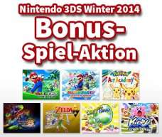 Bei Registrierung eines 3DS + Spiel ein weiteres Spiel kostenlos als Download