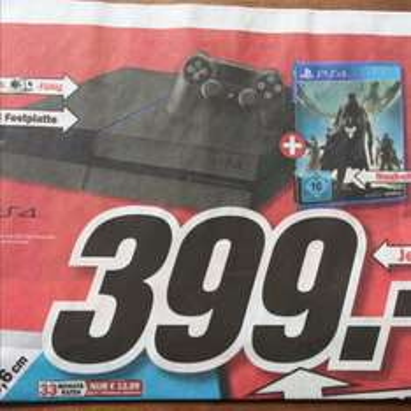 Playstation PS4 + Destiny [lokal Landshut + Umgebung]