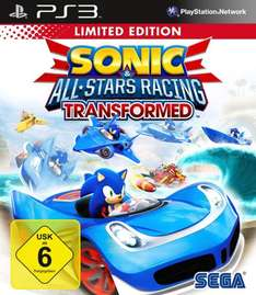Sonic & SEGA All-Stars Racing Transformed PS3 Neu & Deutsch für 16,90 inkl. Versand