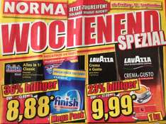 Lavazza 9,99€ bei Norma ab 12.09