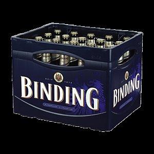 [REWE, lokal Rhein Main Gebiet] 1 Kiste Binding kaufen + Brot gratis