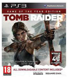 [Zavvi.nl] Tomb Raider - Game of the Year Edition ( PS3) für 14,99 €