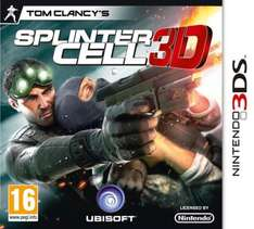Tom Clancy's Ghost Recon: Shadow Wars oder Splinter Cell 3D [3DS] für ca. 14.71€ @ thehut/zavvi