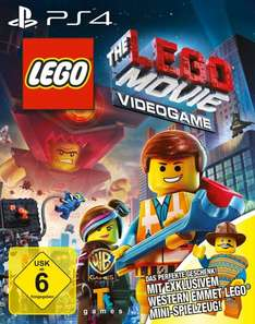 """The Lego Movie Viedogame""  + exklusives Emmet Western Lego Mini-Spielzeug (PS4) für 32,52 @amazon.de"