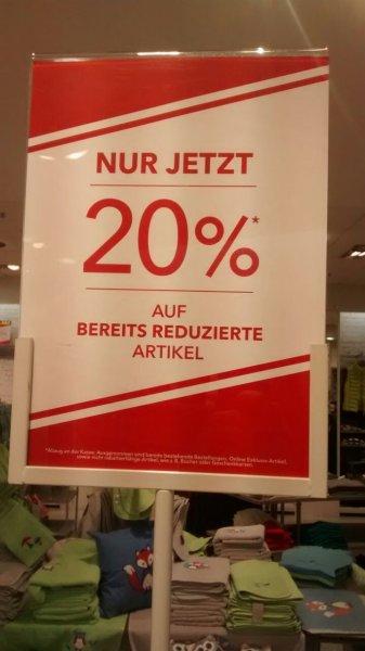 (Lokal NRW) Strauss Innovation 20% zusätzlich auf alle bereits reduzierten Artikel