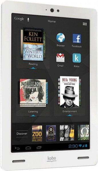 [meinpaket.de] Kobo Arc 16GB Tablet PC und eReader weß inkl. Vsk für 76,35 € ( Comtech.de )