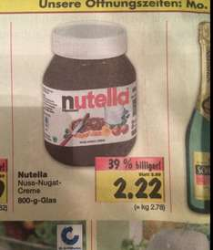 800g Nutella - Kaufland RE-City