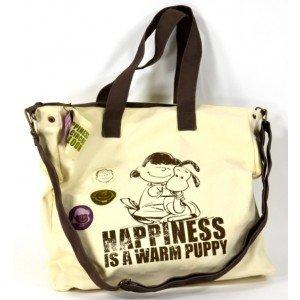 Snoopy/Lucy van Pelt Handtasche - Happiness für 8,09€ statt 13,49€