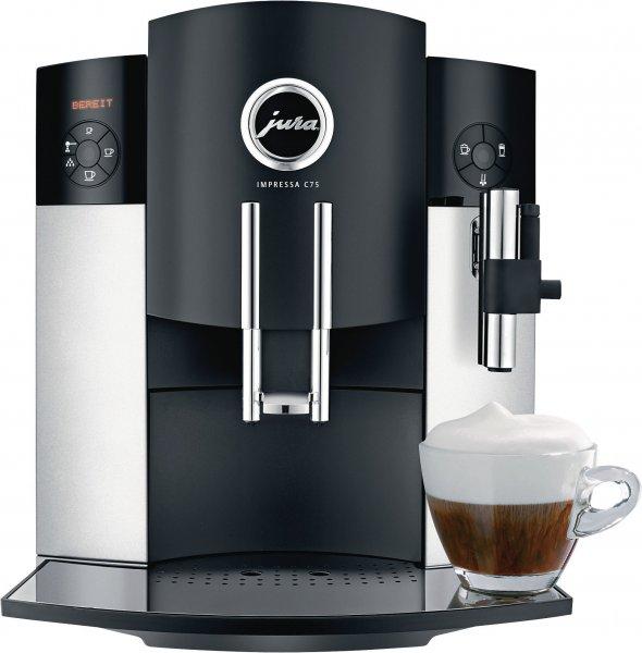 Jura Impressa c75 Platin Kaffeevollautomat bei medimax