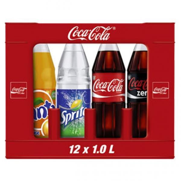 [KAUFLAND BUNDESWEIT] Coca-Cola, Fanta, Sprite, Mezzo Mix für 0,53€-0,56€/Liter 7,50€-8,40€/Kasten