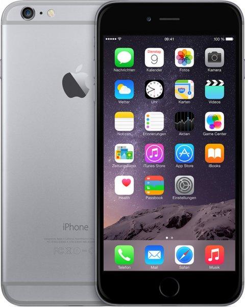 iPhone 6 mit 64GB ab 1€ mit günstigen doppel Tarif