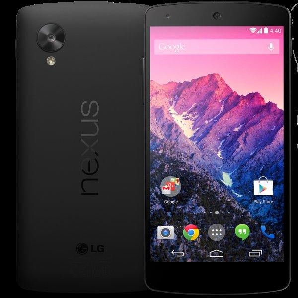 Google Nexus 5 (32 GB, schwarz)