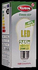 Rossmann 20% auf alle Rubin Halogen, ESL und LED Leuchtmittel