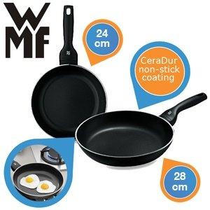 WMF Ceralux Pfannenset 24 cm und 28 cm für 55,90€