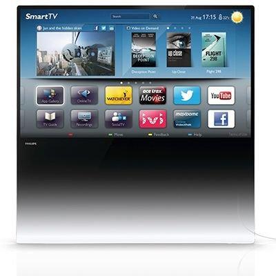 Philips 55 Zoll DesignLine 3D TV inkl. 2 Brillen (55PDL8908)  für 1208,95 bei QVC