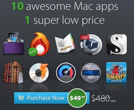 (MAC) MacUpdate Bundle mit 12 Apps inkl. Toast 12 Titanium für nur 38,55€ statt 480$