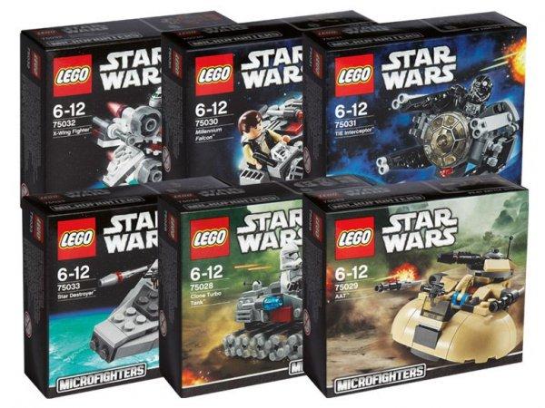 LEGO Bausteineset Star Wars Microfighters