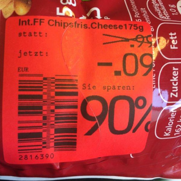 [lokal Kaufland Alfeld] Chipsfrisch Cheese'n'Onion (MHD 15.09.14)