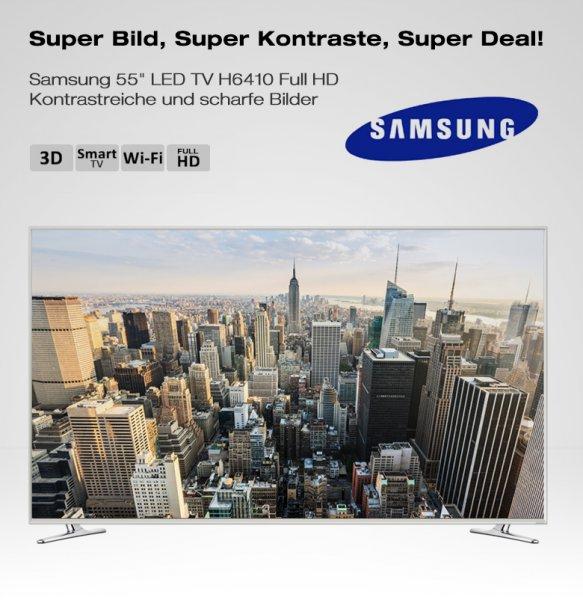 Samsung UE55H6410 139 cm (55 Zoll) 3D LED-Backlight-Fernseher für 869 statt 909€!