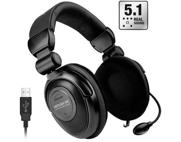 Speedlink Medusa NX 5.1 Gaming Headset mit USB nur 27,89 Euro inkl. Versand als B-Ware