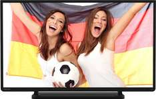 Toshiba 32L2433DG 80 cm (32 Zoll) LED-Backlight-Fernseher, EEK A+ (Full HD, 200Hz AMR, DVB-C/-T, CI+, HDMI, USB, Hotelmodus) schwarz