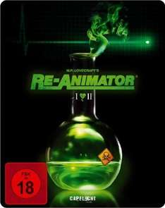 Re-Animator (1985) + Bride of Re-Animator (Doppelset) (2-Disc Limited Steelbook Edition) Blu-ray