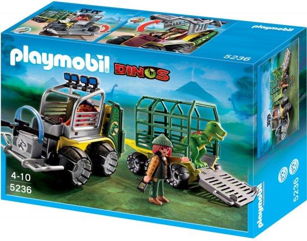 Playmobil™ - Forscherfahrzeug mit Käfiganhänger (5236) ab €11,50 [@Karstadt.de]