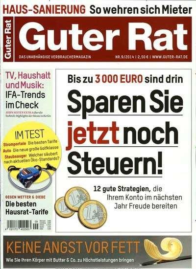 """1/2 Jahr """"Guter Rat"""" für effektiv 3,80€"""
