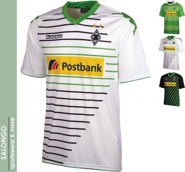 Borussia Mönchengladbach Trikot Home Saison 2013/14 Edit: Alle Größen!! + Away Trikot 2013/14 @outfitter.de