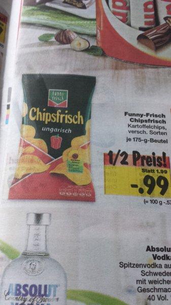 Funny Frisch Chipsfrisch 175g versch. Sorten